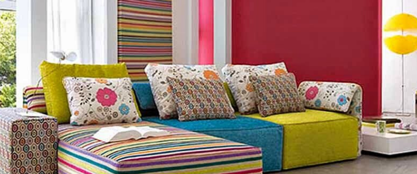 Diseño moderno y colorido