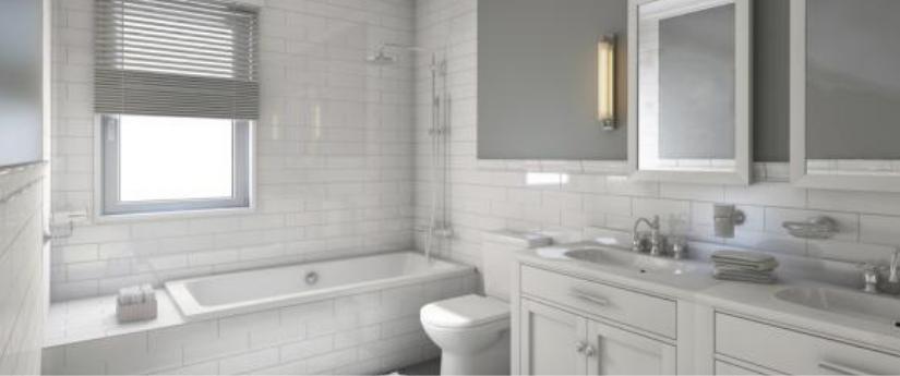 5 Colores de pintura para baños