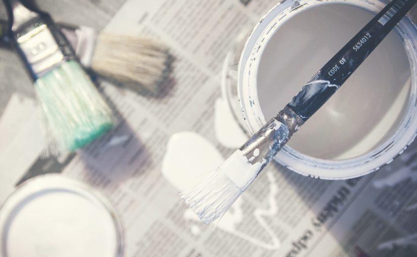 Pintura con protección antibacteriana agregada