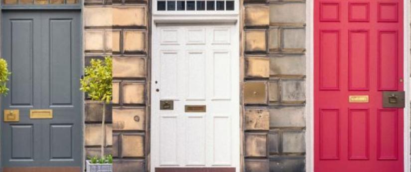 Colores de pintura para puertas principales