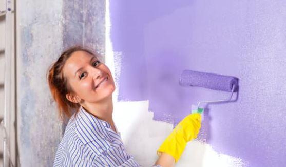 Cómo pintar una habitación sin desorden.