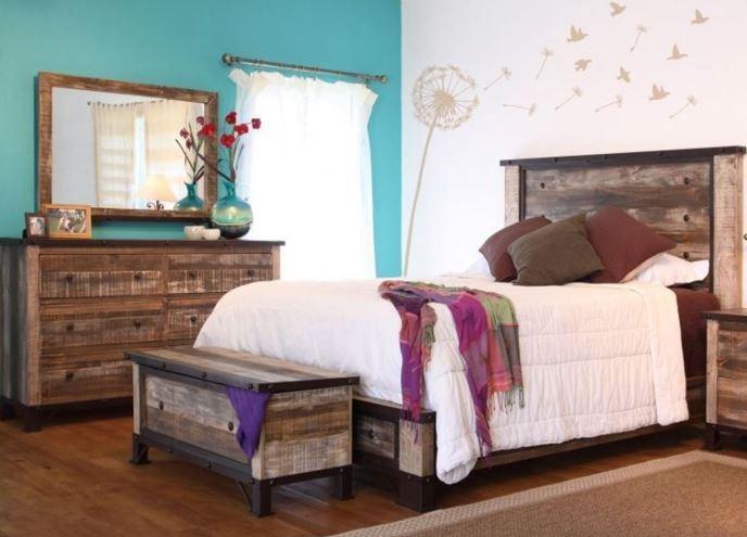 Color del dormitorio