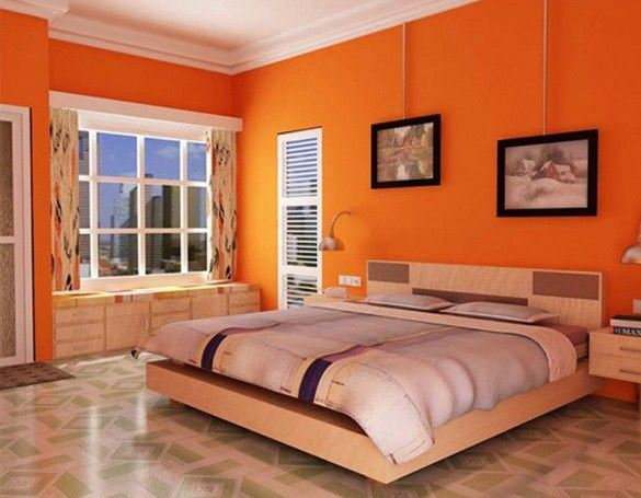 ¿Qué colores combinan con el naranja?