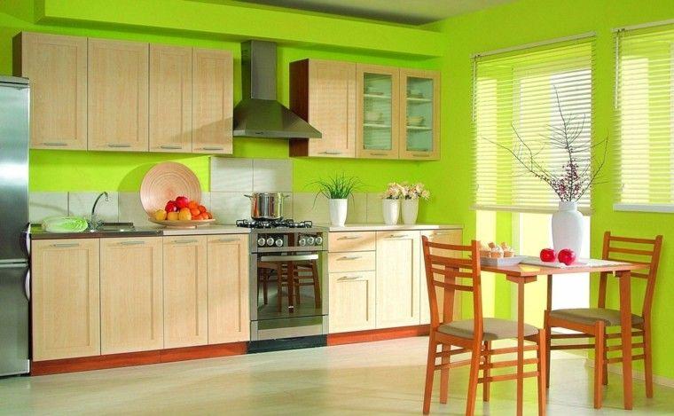 Los mejores colores para pintar una cocina