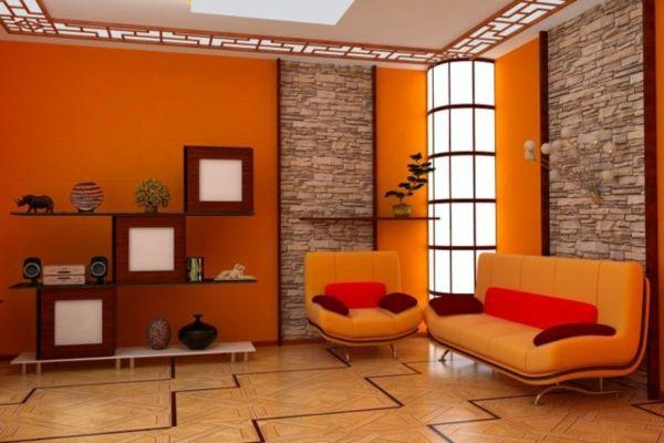Los mejores colores que combinan con naranja