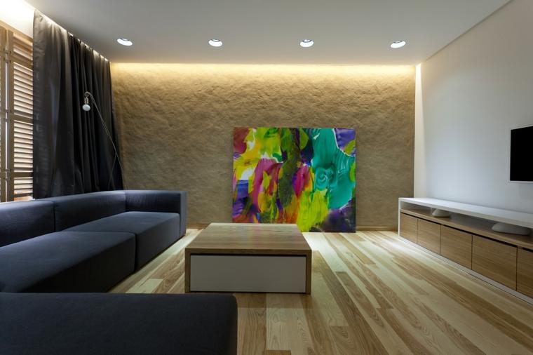 sala con cuadro decorativo