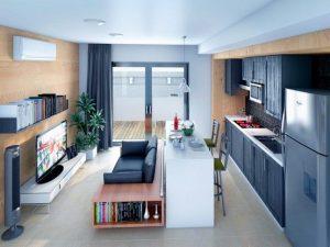 departamento pequeño moderno