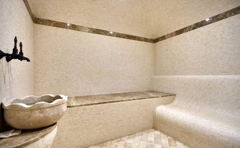 cuarto para sauna hecho en casa
