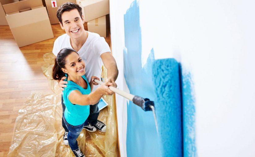 Pinta las paredes como un experto